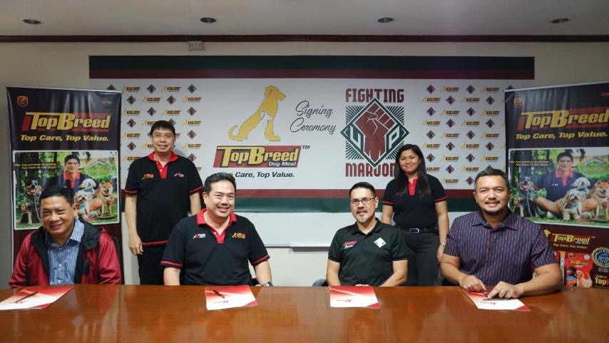 FIGHTING MAROONS, TopBreed Dog Meal SEAL PARTNERSHIP DEAL