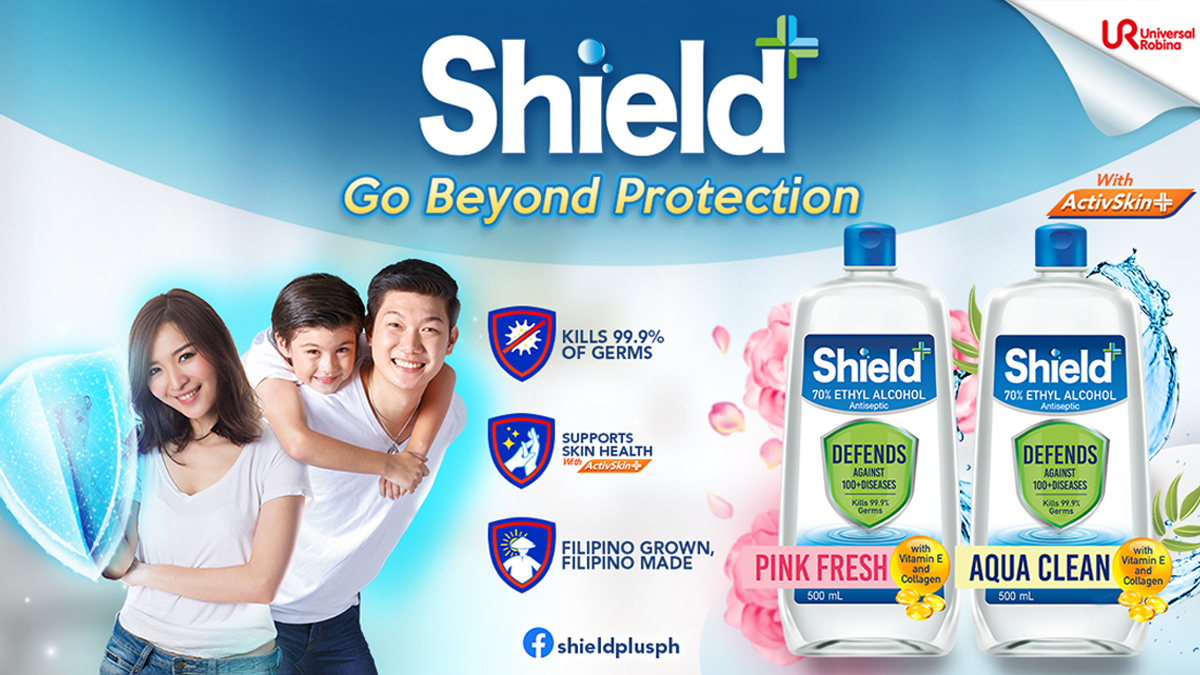 Shield+ Go Beyond Protection